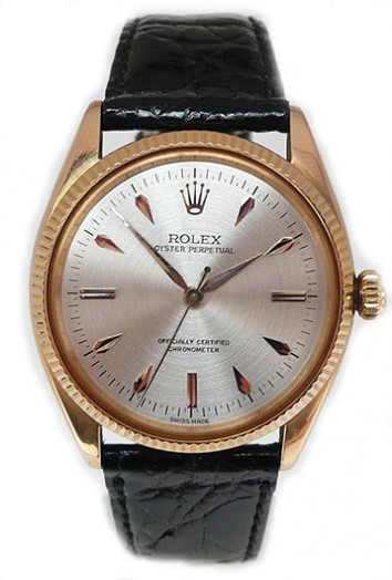 ROLEX 18K GOLD PERPETUAL OYSTER CIRCA 1950S