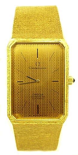 Omega Emeraude Vintage 18K gold Constellation circa 1973