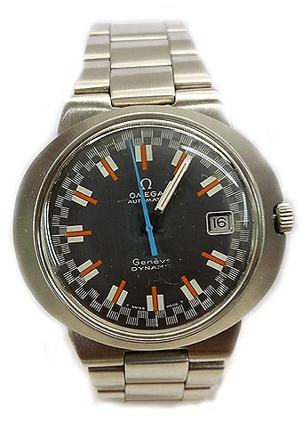 OMEGA DYNAMIC AUTOMATIC RACING DIAL, DATE CIRCA 1969