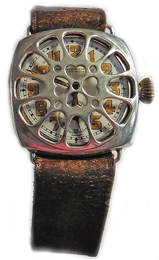 The Fenchurch Lever silver Trench Watch circa 1917