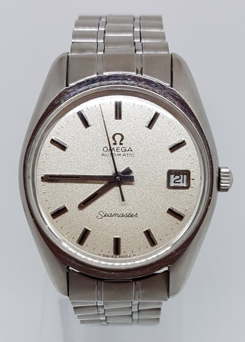 Omega Seamaster automatic date stainless steel circa 1971