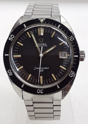 Omega Seamaster 120 divers automatic date stainless steel circa 19