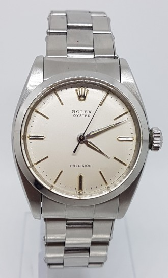 Rolex Oyster Precision manual wind case no 6426 original box circa 1961