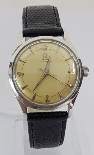 Omega Seamaster Bumper automatic stainless steel circa 1950