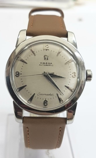 Omega seamaster Bumper automatic stainless steel circa 1952
