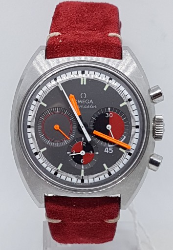 A RARE OMEGA SEAMASTER GENTS CHRONOGRAPH MODEL 145.016 STAINLESS STEEL