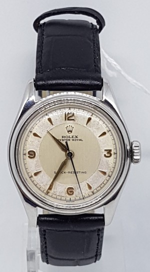 Rolex oyster Royal Stainless steel original dial center seconds circa 1951