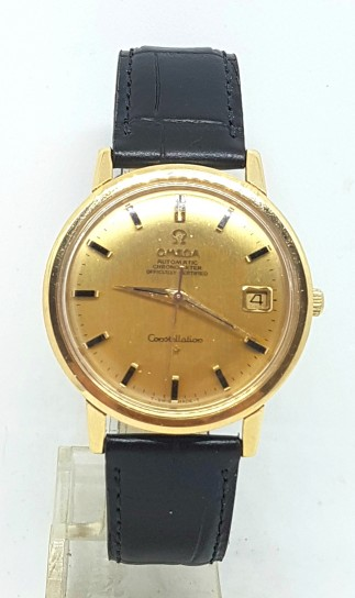 Omega Constellation Chronometer solid 18k gold automatic Date 1968