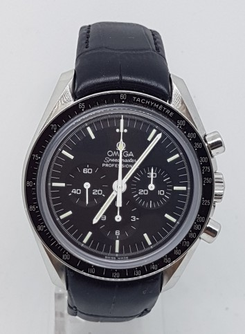 Omega Speedmaster Professional Chronograph  'first man on the moon' steel on strap dated 2012