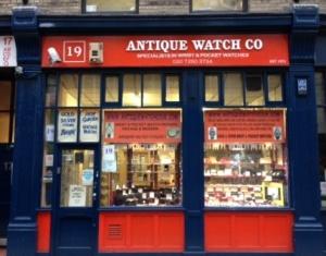 Antique Watch co shop.